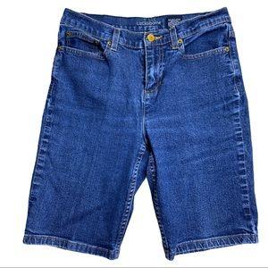Liz Claiborne Jackie Blue Jeans Shorts Size 6